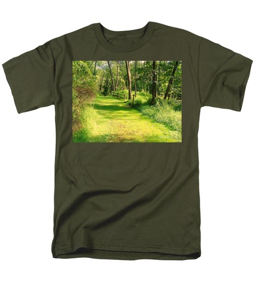 Men's T-Shirt  (Regular Fit) featuring the photograph Serenity by Becky Lupe