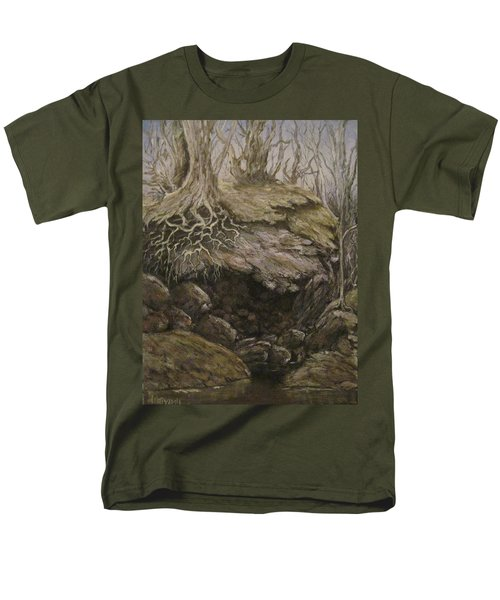 Men's T-Shirt  (Regular Fit) featuring the painting Shades Of Froud by Megan Walsh