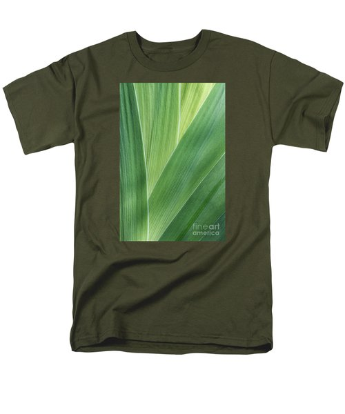 Men's T-Shirt  (Regular Fit) featuring the photograph Shades Of Green #2 by Judy Whitton