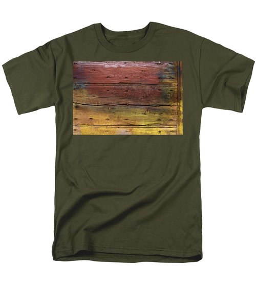 Shades Of Red And Yellow Men's T-Shirt  (Regular Fit) by Ron Harpham