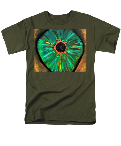She Sees The Truth Men's T-Shirt  (Regular Fit) by Lisa Brandel