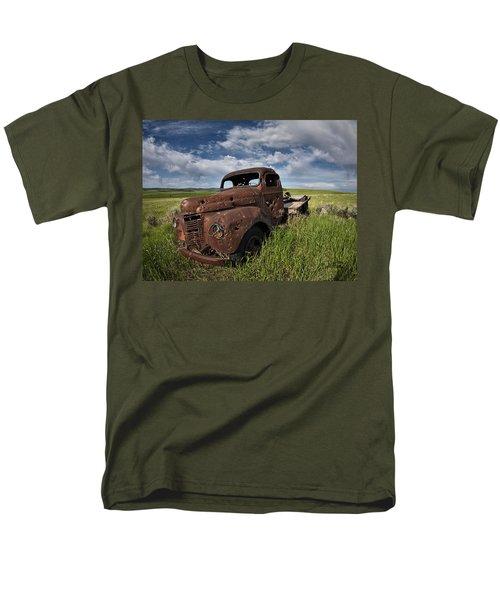 Shot Up Men's T-Shirt  (Regular Fit) by Leland D Howard