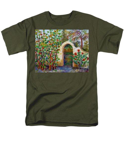 Siesta Key Archway Men's T-Shirt  (Regular Fit) by Lou Ann Bagnall