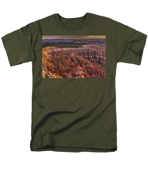 Silent City - Bryce Canyon Men's T-Shirt  (Regular Fit) by Eduard Moldoveanu