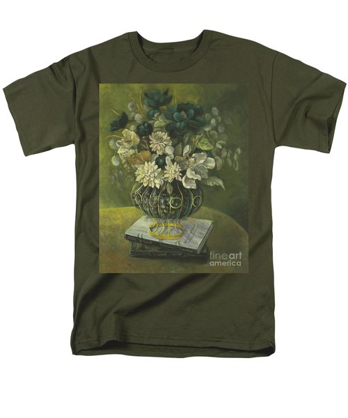Silk Floral Arrangement Men's T-Shirt  (Regular Fit) by Marlene Book