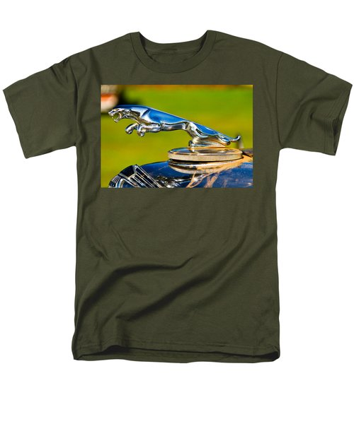 Simply Jaguar-front Emblem Men's T-Shirt  (Regular Fit) by Eti Reid