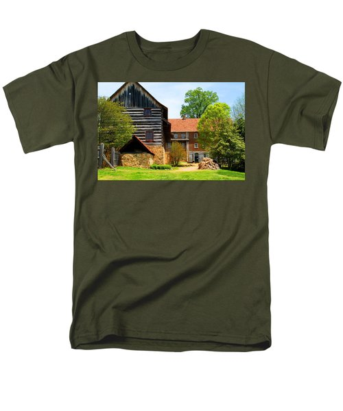 Single Brothers House Men's T-Shirt  (Regular Fit) by Kathryn Meyer