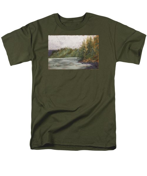 Sitka Mist Men's T-Shirt  (Regular Fit) by Alan Mager