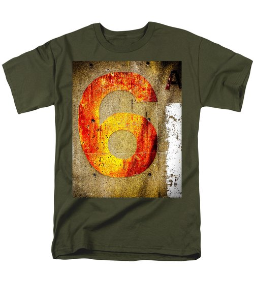 Six Men's T-Shirt  (Regular Fit) by Bob Orsillo