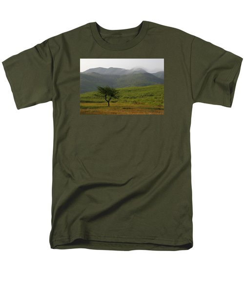Men's T-Shirt  (Regular Fit) featuring the photograph Skc 0053 A Solitary Tree by Sunil Kapadia