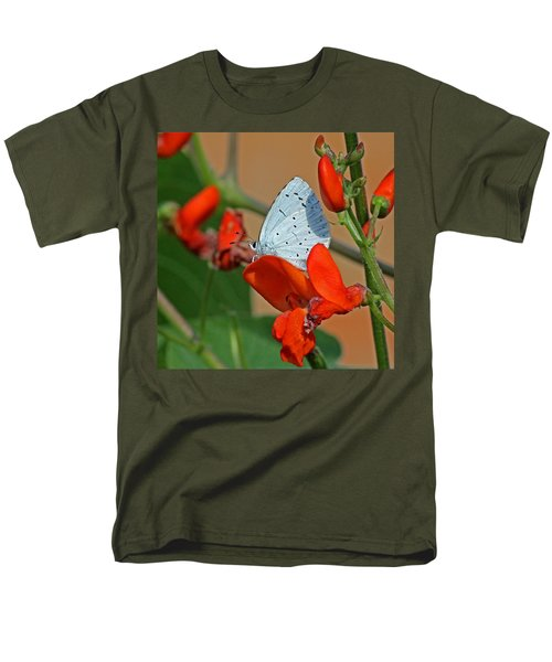 Small Blue Butterfly Men's T-Shirt  (Regular Fit) by Tony Murtagh