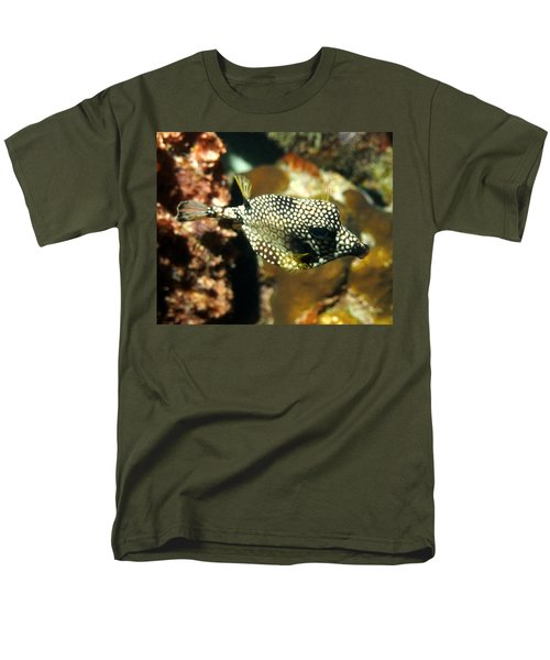Men's T-Shirt  (Regular Fit) featuring the photograph Smooth Trunkfish by Amy McDaniel