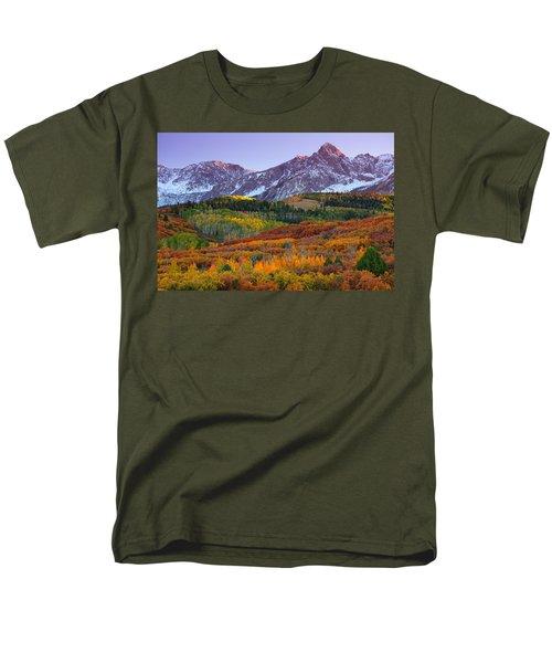 Sneffels Sunrise Men's T-Shirt  (Regular Fit) by Darren  White