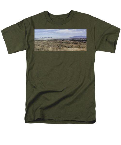 Men's T-Shirt  (Regular Fit) featuring the photograph Sonoita Arizona by Lynn Geoffroy