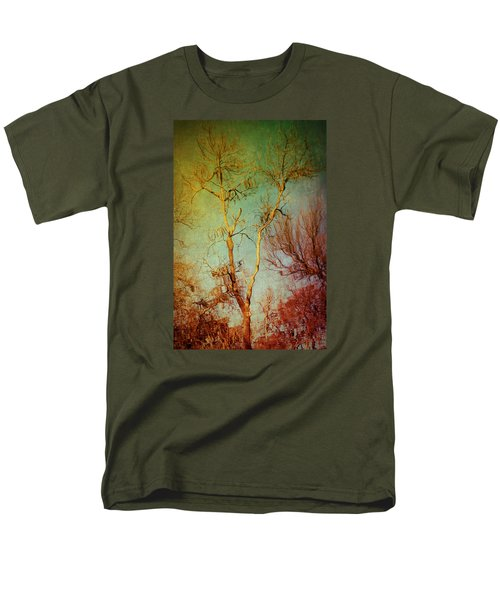 Souls Of Trees Men's T-Shirt  (Regular Fit) by Trish Mistric