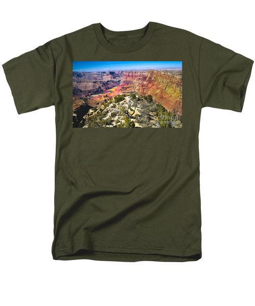 South Rim From The Butte Men's T-Shirt  (Regular Fit) by Robert Bales
