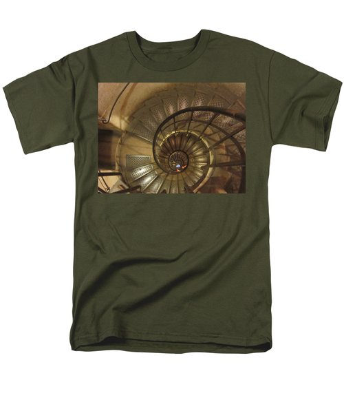 Spiral Staircase Men's T-Shirt  (Regular Fit) by Pema Hou