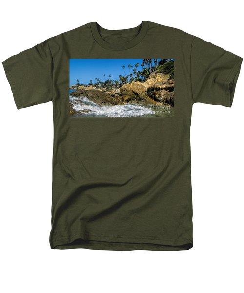 Splash Men's T-Shirt  (Regular Fit) by Tammy Espino