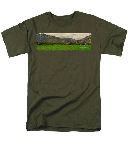 Men's T-Shirt  (Regular Fit) featuring the photograph Spring Dandylions by Sam Rosen