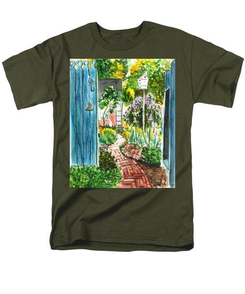 Spring Garden Men's T-Shirt  (Regular Fit)