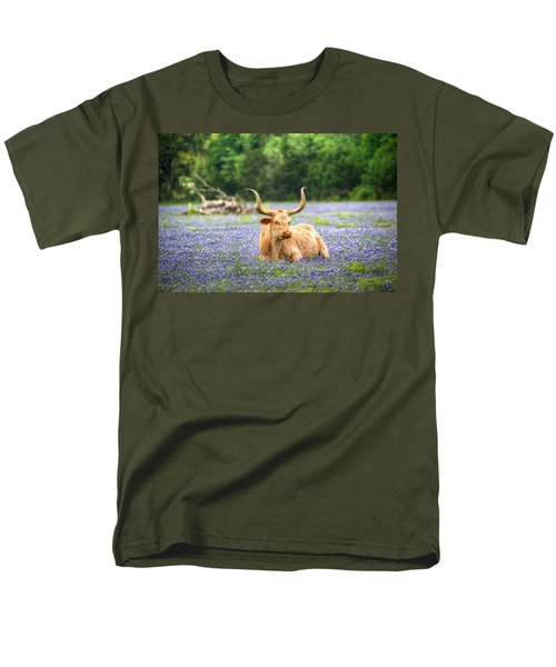 Springtime In Texas Men's T-Shirt  (Regular Fit) by Dave Files