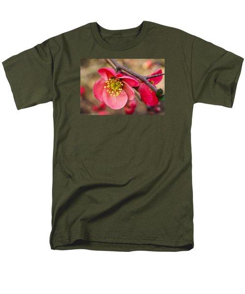 Springtime Quince Men's T-Shirt  (Regular Fit) by Julie Andel