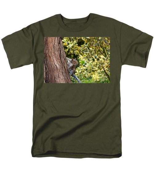 Men's T-Shirt  (Regular Fit) featuring the photograph Squirrel by Kate Brown