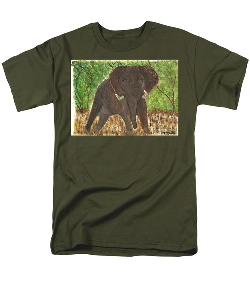 Men's T-Shirt  (Regular Fit) featuring the painting Standing My Ground by Tracey Williams