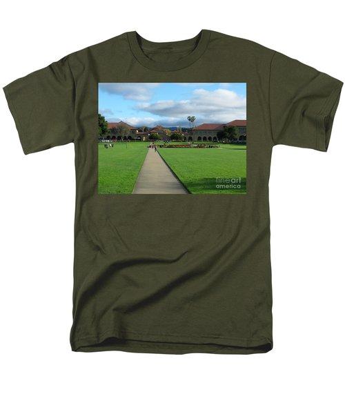 Stanford University Men's T-Shirt  (Regular Fit) by Mini Arora