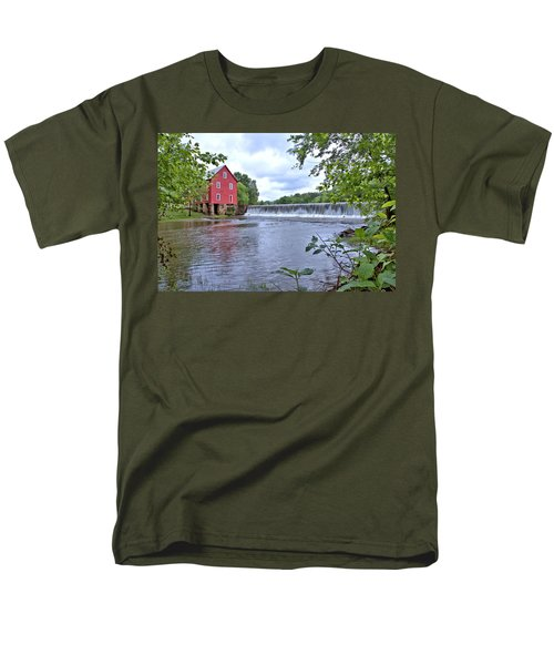 Starrs Mill Men's T-Shirt  (Regular Fit) by Gordon Elwell