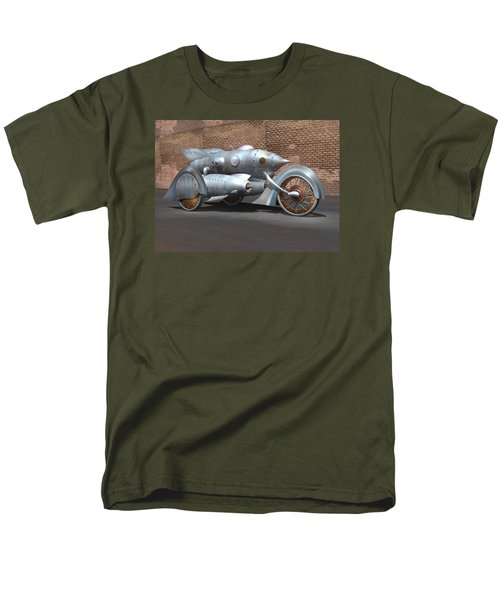 Steam Turbine Cycle Men's T-Shirt  (Regular Fit) by Stuart Swartz