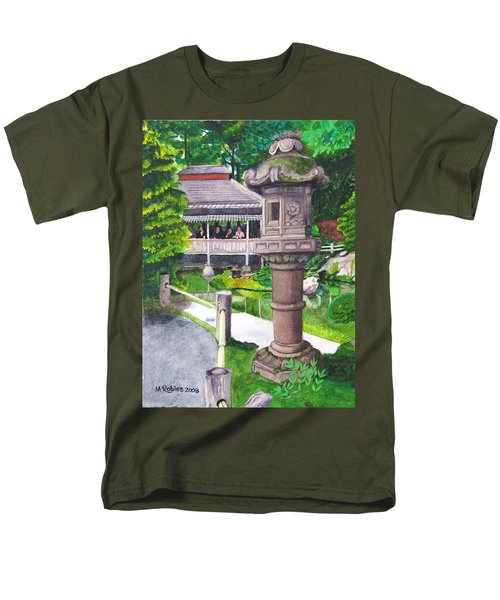 Stone Lantern Men's T-Shirt  (Regular Fit) by Mike Robles