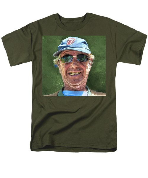 Stones Fan Men's T-Shirt  (Regular Fit) by Rick Mosher