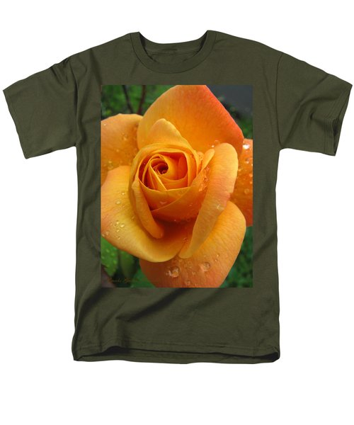 Men's T-Shirt  (Regular Fit) featuring the photograph Strike It Rich - My Summer Garden by Brooks Garten Hauschild