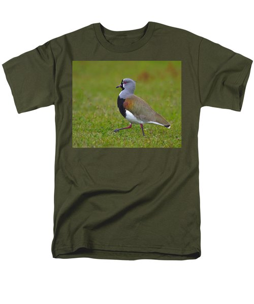 Strutting Lapwing Men's T-Shirt  (Regular Fit) by Tony Beck