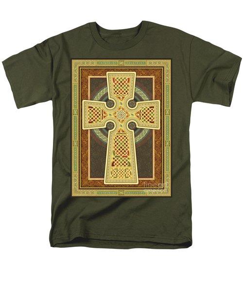 Stylized Celtic Cross Men's T-Shirt  (Regular Fit)