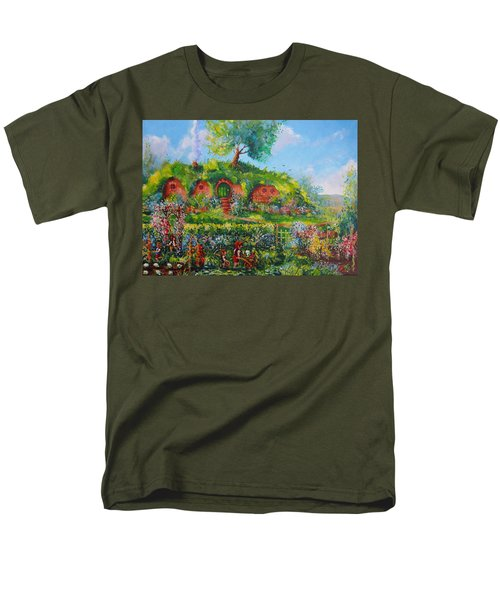 Summer In The Shire Men's T-Shirt  (Regular Fit) by Joe  Gilronan