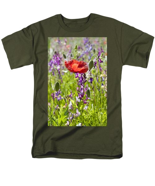 Men's T-Shirt  (Regular Fit) featuring the photograph Summer by Lana Enderle