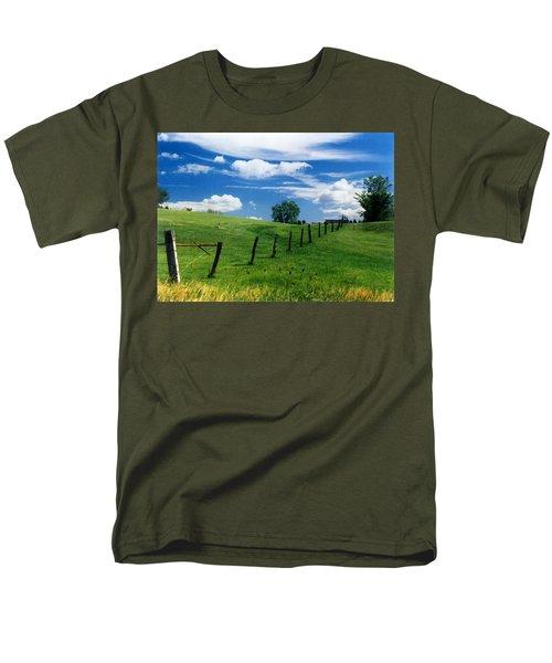 Summer Landscape Men's T-Shirt  (Regular Fit) by Steve Karol