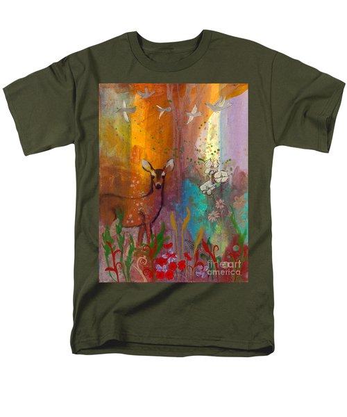 Sun Deer Men's T-Shirt  (Regular Fit) by Robin Maria Pedrero