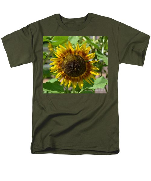 Sunflower Glory Men's T-Shirt  (Regular Fit) by Luther Fine Art