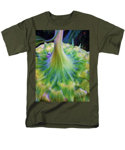 Men's T-Shirt  (Regular Fit) featuring the photograph Sunflower...moonside 1 by Daniel Thompson