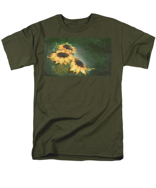 Sunflowers Men's T-Shirt  (Regular Fit) by Doreta Y Boyd