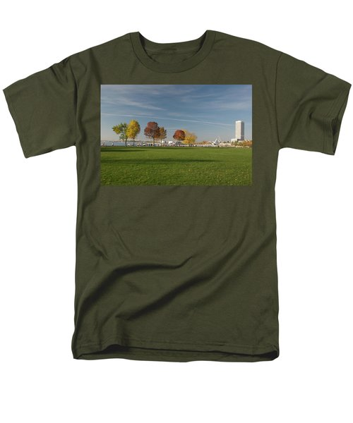 Men's T-Shirt  (Regular Fit) featuring the photograph Sunny Autumn Day by Jonah  Anderson
