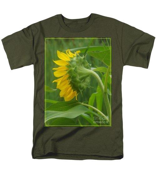 Sunny Profile Men's T-Shirt  (Regular Fit) by Sara  Raber