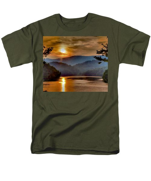 Sunset And Haze Men's T-Shirt  (Regular Fit) by Tom Culver