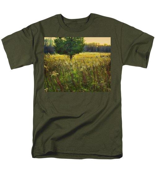 Men's T-Shirt  (Regular Fit) featuring the photograph Sunset Meadow by John Hansen