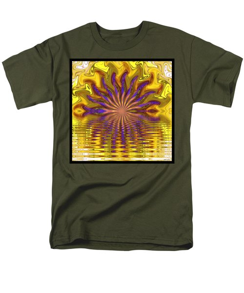 Sunset Of Sorts Men's T-Shirt  (Regular Fit) by Elizabeth McTaggart
