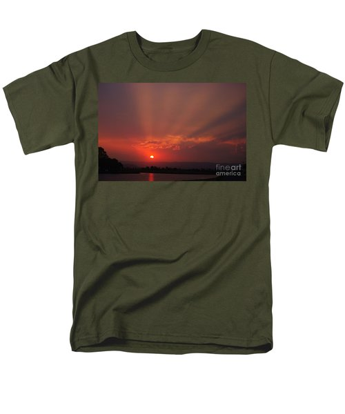Sunset Over Hope Island 2 Men's T-Shirt  (Regular Fit) by Blair Stuart