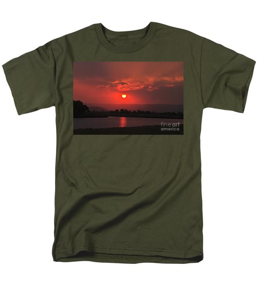 Sunset Over Hope Island Men's T-Shirt  (Regular Fit) by Blair Stuart